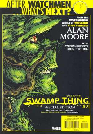Saga of the Swamp Thing (1982-1984)#21B