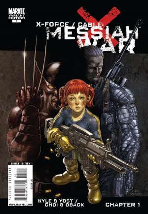 X-Force/Cable: Messiah War (2009) #One-Shot B