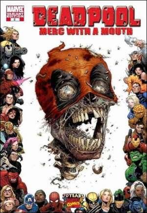 Deadpool: Merc With a Mouth (2009-2010)#2B