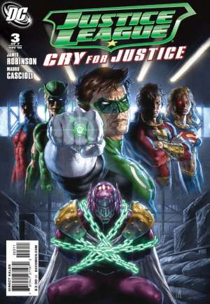 Justice League: Cry for Justice#3A