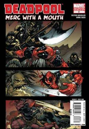 Deadpool: Merc With a Mouth (2009-2010) #2C