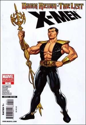 Dark Reign: The List - X-Men#One-Shot B