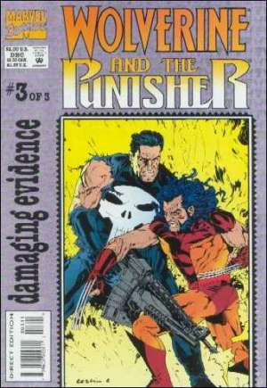 Wolverine and the Punisher: Damaging Evidence (1993)#3B