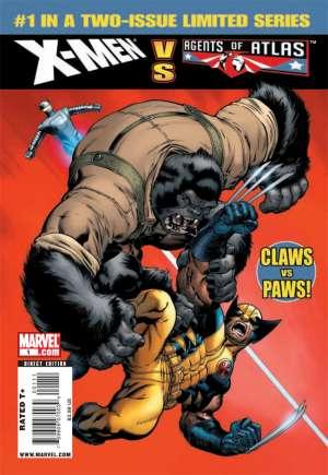 X-Men vs. Agents of Atlas (2009-2010)#1A