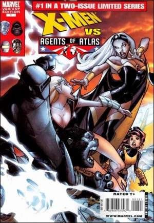 X-Men vs. Agents of Atlas (2009-2010)#1B