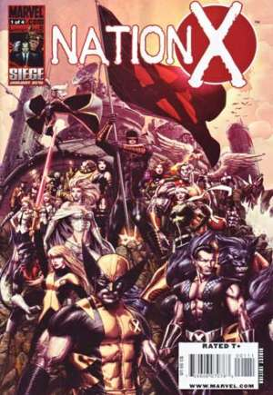 Nation X (2010) #1