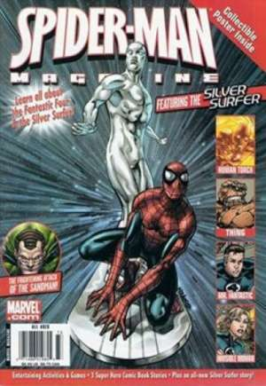 Spider-Man Magazine Featuring the Silver Surfer #1