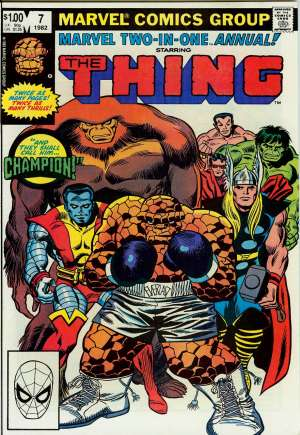 Marvel Two-In-One (1974-1983) #Annual 7B