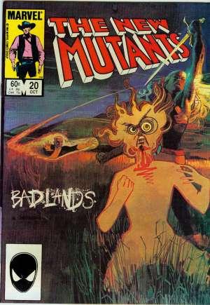 New Mutants (1983-1991)#20B