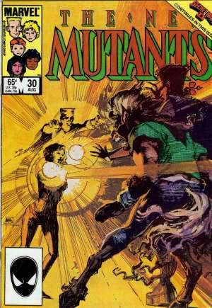 New Mutants (1983-1991)#30B