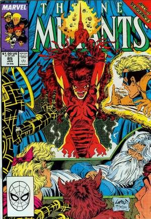 New Mutants (1983-1991)#85B