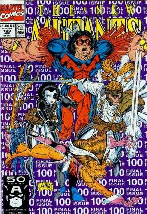 New Mutants (1983-1991)#100B