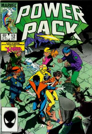 Power Pack (1984-1991) #12B
