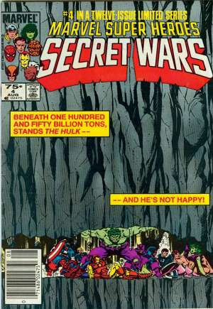 Marvel Super-Heroes Secret Wars (1984-1985) #4A