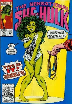 Sensational She-Hulk (1989-1994)#40B