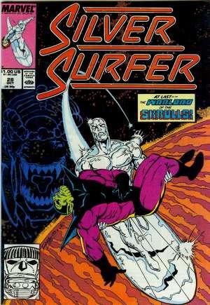 Silver Surfer (1987-1998)#28B