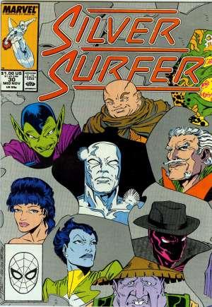 Silver Surfer (1987-1998)#30B