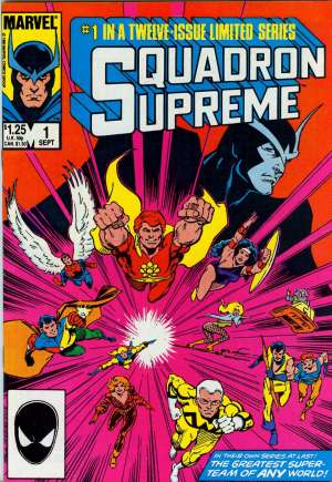 Squadron Supreme (1985-1986)#1B