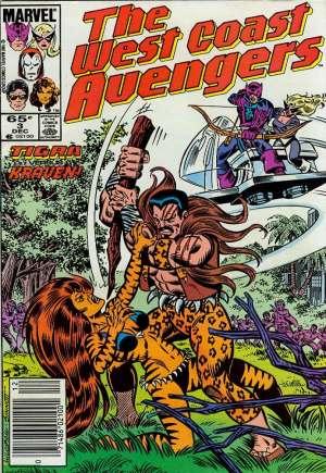 West Coast Avengers (1985-1989)#3A
