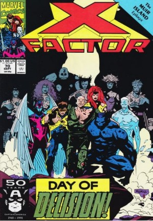 X-Factor (1986-1998)#70B