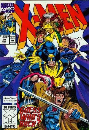 X-Men (1991-2001, 2004-2008)#20B