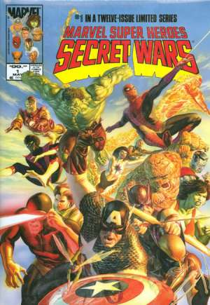 Marvel Super-Heroes Secret Wars Omnibus (2008)#HCB