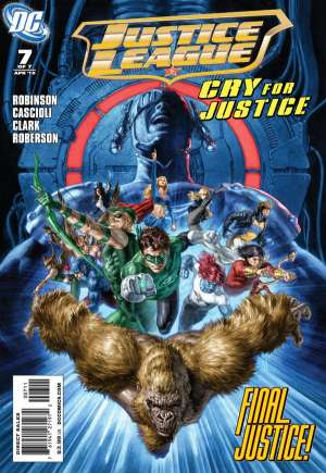 Justice League: Cry for Justice#7