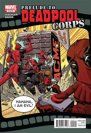 Prelude to Deadpool Corps (2010)#5