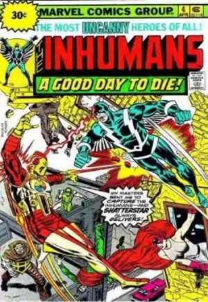 Inhumans (1975-1977)#4B
