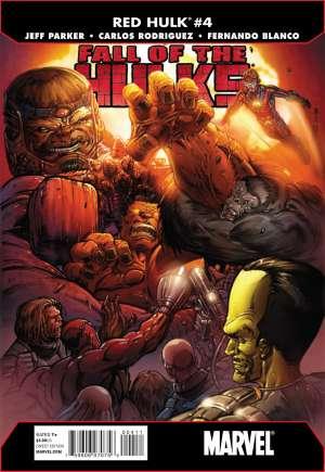 Fall of the Hulks: Red Hulk#4