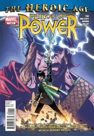 Prince of Power (2010) #1