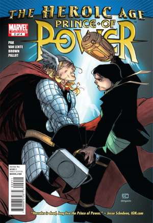Prince of Power (2010) #2