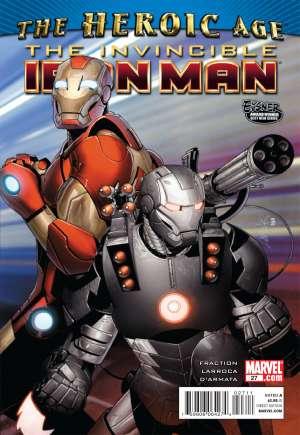 Invincible Iron Man (2008-2012)#27A
