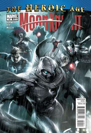Vengeance of the Moon Knight (2009-2010)#10A
