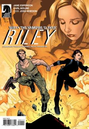 Buffy the Vampire Slayer: Riley (2010)#1B