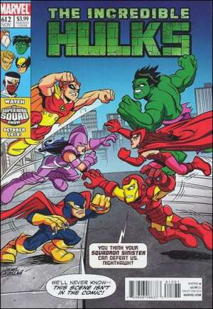 Incredible Hulks (2010-2011)#612B