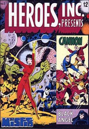 Heroes, Inc. Presents Cannon#2