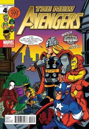 New Avengers (2010-2013)#4B