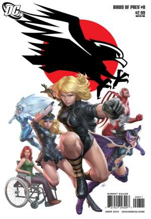 Birds of Prey (2010-2011) #8