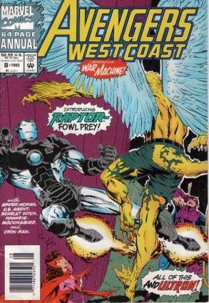Avengers West Coast (1989-1994)#Annual 8A