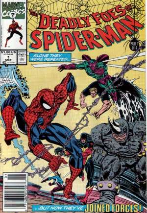 Deadly Foes of Spider-Man (1991) #1A