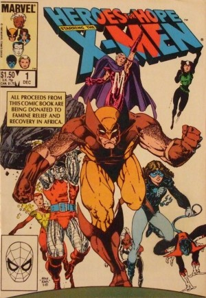 Heroes for Hope Starring the X-Men #1B
