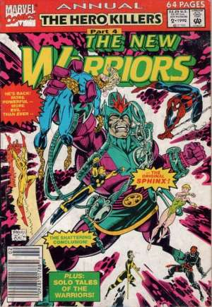 New Warriors (1990-1996)#Annual 2A