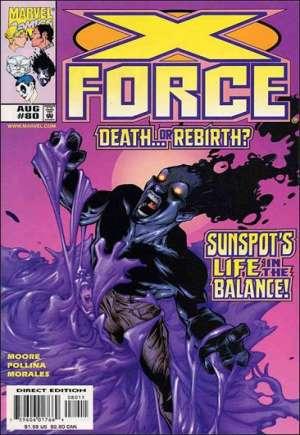 X-Force (1991-2002)#80B