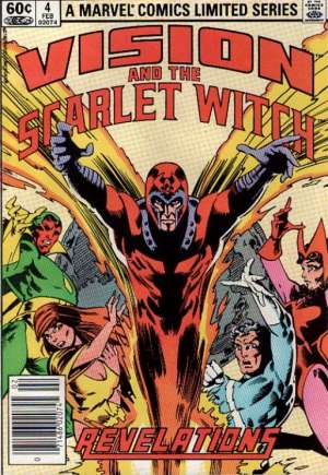 Vision and the Scarlet Witch (1982-1983) #4A