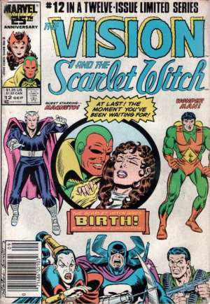 Vision and the Scarlet Witch (1985-1986)#12A