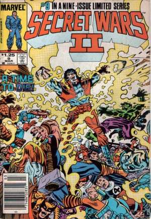 Secret Wars II (1985-1986) #9A