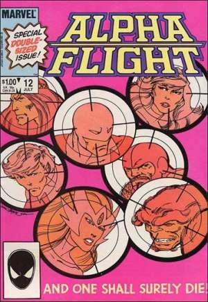 Alpha Flight (1983-1994)#12B