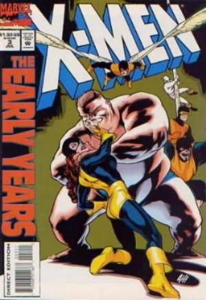 X-Men: The Early Years (1994-1995)#3B