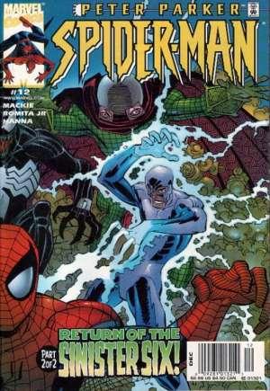 Peter Parker Spider-Man (1999-2003)#12A